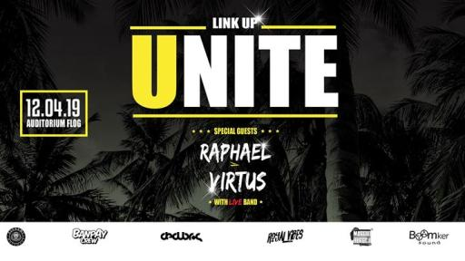 ☆LINK UP UNITE ☆ Raphael & Virtus Live Band + Dancehall
