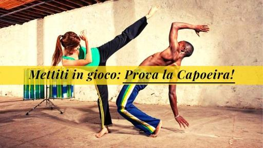 Put yourself in jogo: discover the capoeira!