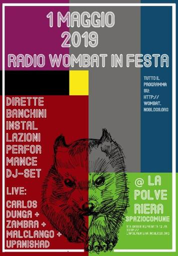 Radio Wombat In Festa