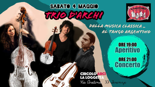 Trio d'Archi at the Salottino De La Loggetta