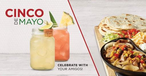 Cinco de Mayo - Celebrate with your amigos!