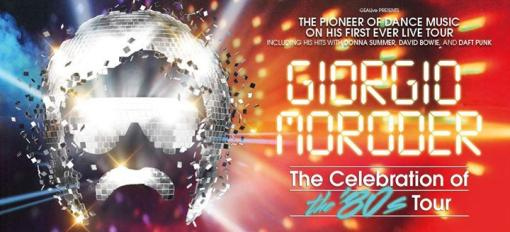 Giorgio Moroder - Florence - The Celebration of the 80's Tour