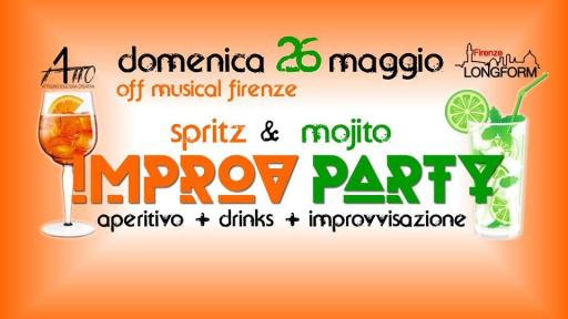 ImprovPARTY aperitif with improvisation!