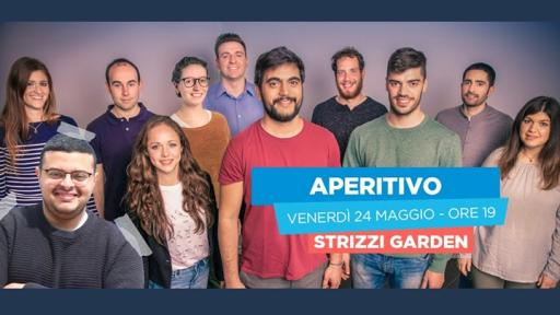 Aperitif Strizzi Garden closing election campaign