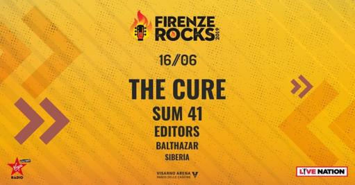 The Cure / Sum 41 + more // Firenze Rocks 2019