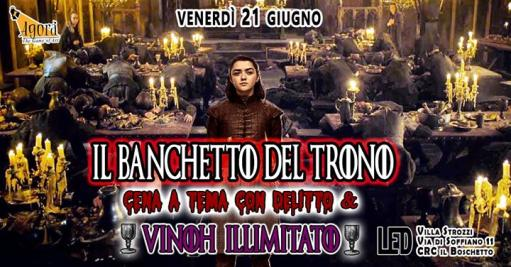The Throne Banquet / Dinner with Crime + Unlimited Vinoh