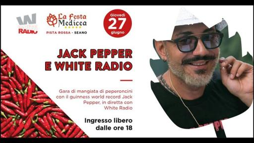Jack Pepper show / guinnes world record alla Festa Medicea