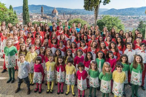 END OF WEEK OF CONCERTS FOR THE SMALL MELOGRAN CHOIR