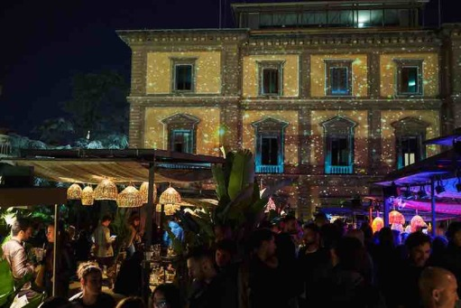 Villa Vittoria on the Monday of summer nightlife