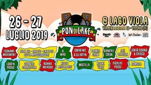 PON di LAKE - Two Days in Reggae [at] Lago Viola (FI)