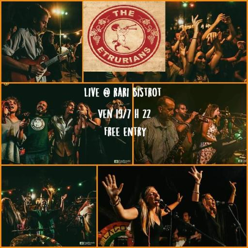 The Etrurians live - Rari Bistrot - Free entry