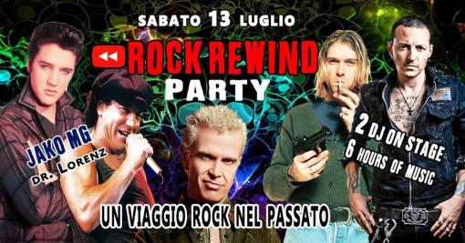 Rock Rewind Party / A Rock journey into the past