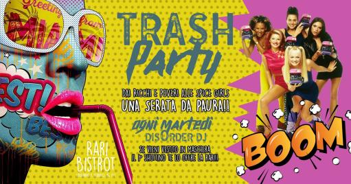 Trash Party !! Second shot! Come masked and shotta!