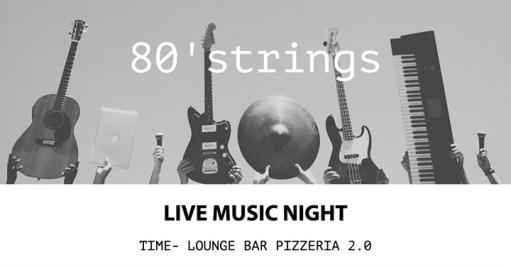 Live Music Night - 80'strings