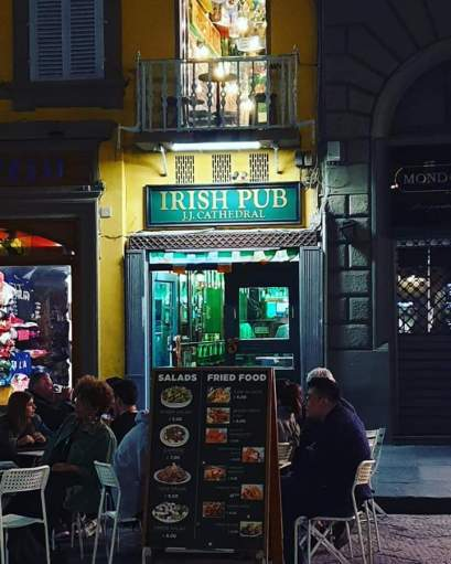 JJ CATHEDRAL IRISH PUB