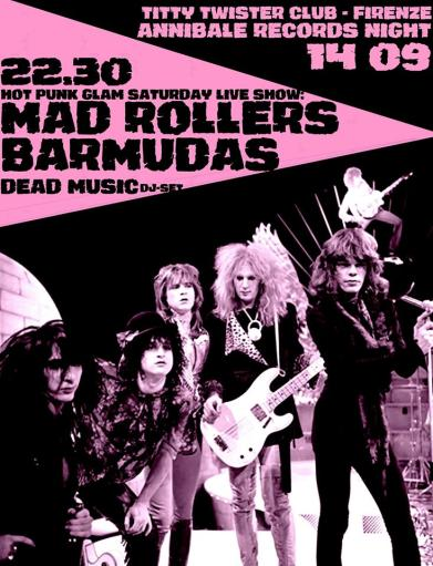 Hannibal Records night: Mad Rollers + Barmudas & Dead Music R