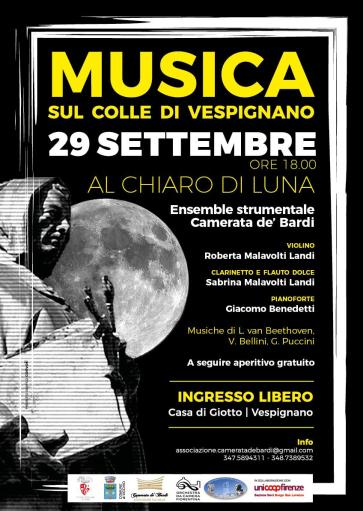 Tribute to the Moon with the Camerata de 'Bardi