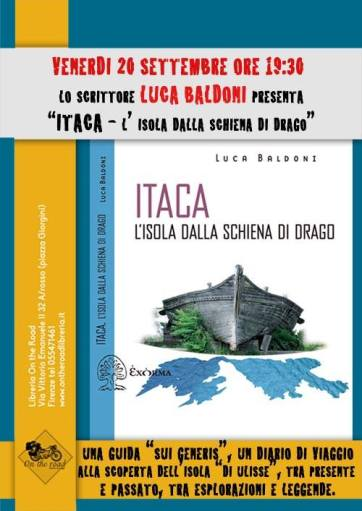 Journey to Ithaca with the writer Luca Baldoni