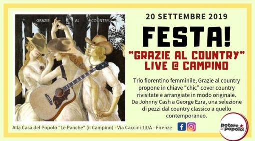 Thanks to the country live at Campino