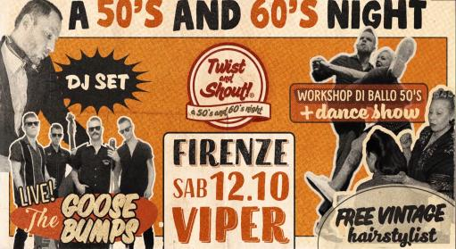 Twist and shout - 50/60's Rock 'n' roll party