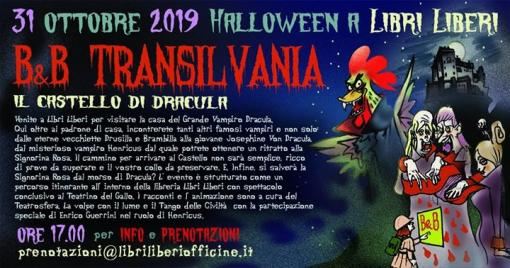 Halloween at the B&B Transilvania, the castle of Dracula