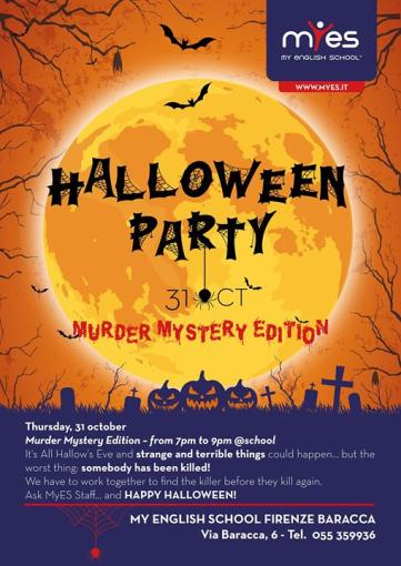 Halloween Party | Murder Mystery Edition