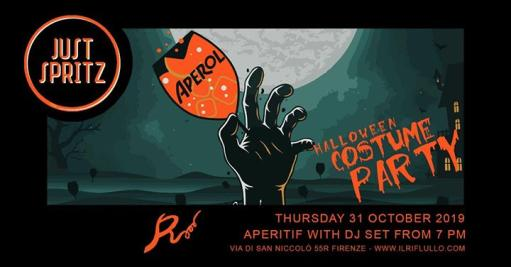 Just Spritz Halloween Party