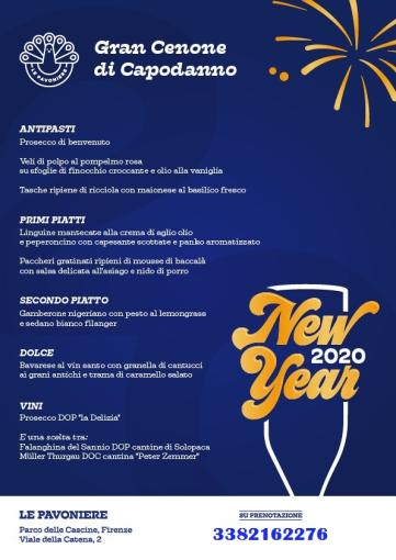 LE PAVONIERE NEW YEAR 2020