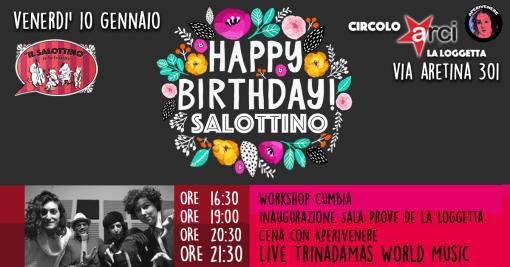 Happy BDay Salottino \\\ Friday 10 January 2020
