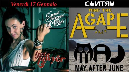 General Stratocuster and The Marshals / May after June/Agape