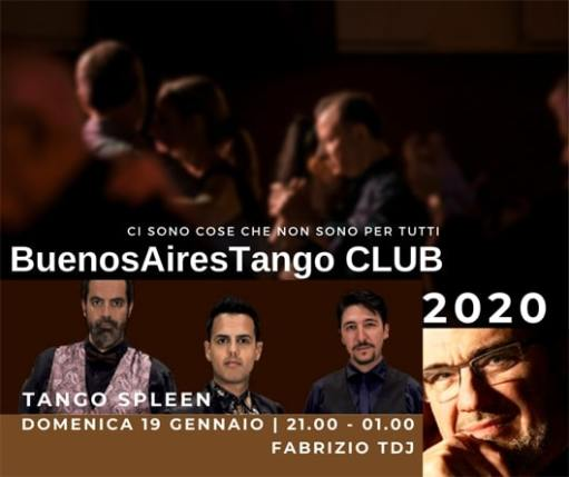 BuenosAiresTango CLUB - Tango Spleen in concert