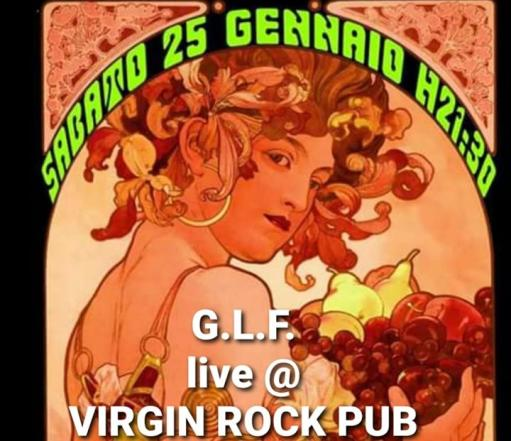 Hard Rock Night With G.L.F. live!