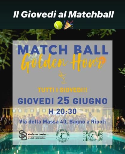 """Match ball Golden Hour"""