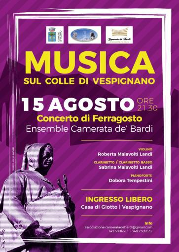 Mid-August in Music with the Camerata de 'Bardi