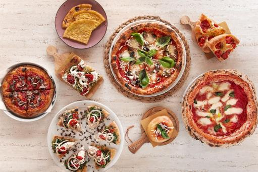 Pizzas of Italy in celebration in all Eataly