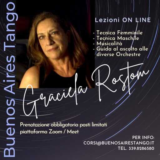 Online TANGO Courses and Lessons with Graciela Rostom
