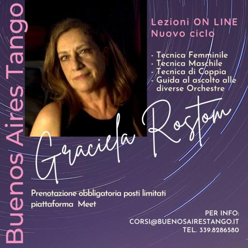 Tango! ONLINE Courses and Lessons with Graciela Rostom