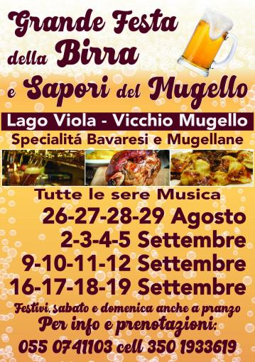 Beer festival and Mugello flavors