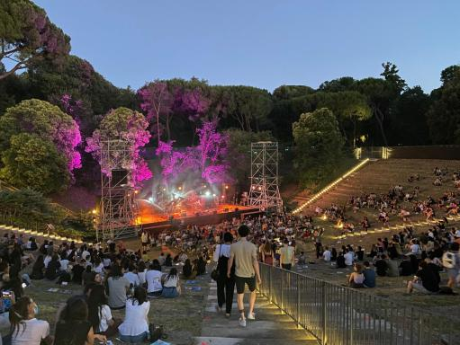 Great events at the Cascine Florence Amphitheater